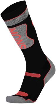 Mons Royale Pro Lite Merino Women's Ski/Snowboard Socks L Black/Neon