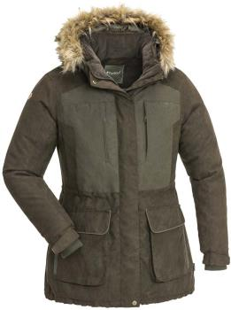 Pinewood Abisko 2.0 Women's Waterproof Jacket M Suede Brown