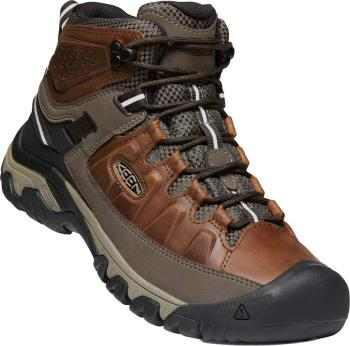 Keen Targhee III Mid WP Hiking Boots, UK 9 Chestnut/Mulch