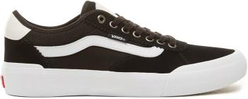 Vans Chima Pro 2 Skate Shoes, UK 12 Suede/Canvas Black/White