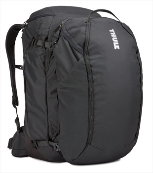 Thule Adult Unisex Landmark 70L Travel Backpack, 70L Obsidian