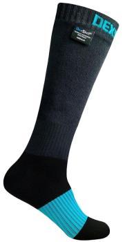 DexShell Extreme Sports Waterproof Socks, UK 9-11 Black/Blue