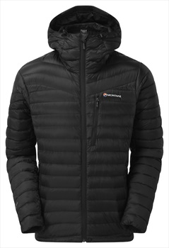 Montane Featherlite Down Insulated Hiking Jacket, S Black