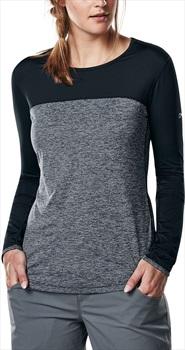Berghaus Voyager Tech Women's Long Sleeve T-Shirt, UK 14 Carbon Marl