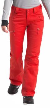 The North Face Lenado Women's Ski/Snowboard Pants M Fiery Red