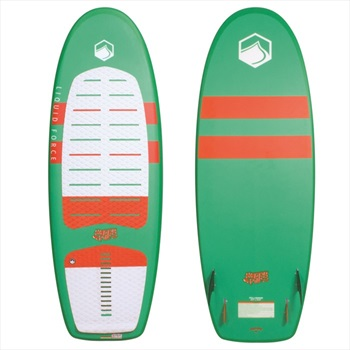 "Liquid Force Happy Pill Wakesurfer, 5'2"" Green Red"