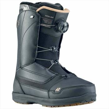 K2 Sapera BOA Women's Snowboard Boots, UK 7 Black 2020
