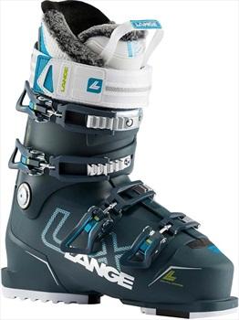 Lange LX 90W Women's Ski Boots, 22/22.5 Deep Petrol/Blue 2020