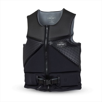 O'Brien Aussie NCGA Wake Ski Impact Vest, 2XL Black 2021
