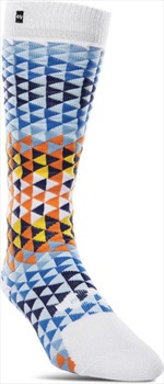 thirtytwo Womens Tone Womens Snowboard/Ski Socks, L/XL White