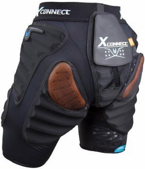 Demon Flex Force XD3O X2 Women's Impact Shorts, XL Black