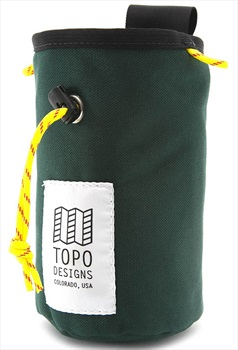 Topo Designs Hipster Rock Climbing Chalk Bag, One Size Forest