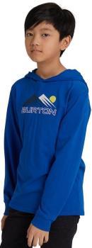 Burton Ripton Kids' Long Sleeve Hooded Top, Age 10 Lapis Blue