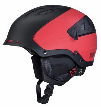 K2 Diversion Snow/Bike Helmet, M Black/Red