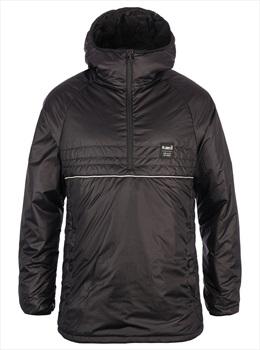 Planks Free Peaks Pullover Mid Layer Jacket, L Black