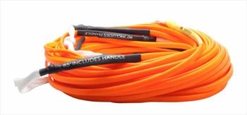 Hyperlite Flatline Wakeboard Rope, 80' Orange