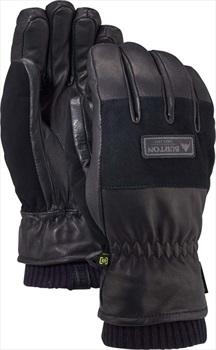Burton Free Range Leather Ski/Snowboard Gloves, S True Black