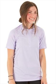 Craft Womens Pulse Jersey Quarter-Zip T-Shirt, M Viola