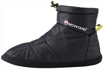 Montane Prism Bootie Insulated Camping Slippers XL Black