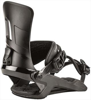 Nitro Adult Unisex Rambler Snowboard Bindings, Large Ultra Black 2020