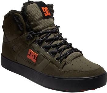DC Pure High-Top WC WNT Men's Winter Shoes, UK 11 Dusty Olive