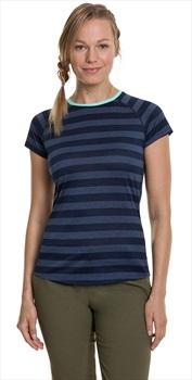Berghaus Stripe Tee 2.0 Women's Short Sleeve T-Shirt, UK 8 Dusk