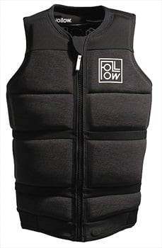 Follow Surf Edition Wakeboard Impact Vest Jacket, XLarge Charcoal 2020