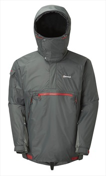 Montane Adult Unisex Extreme Smock Pullover Hiking Jacket, XL Shadow