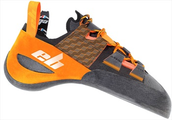 EB Adult Unisex Strange Rock Climbing Shoe, Uk 5.5 | Eu 39 Orange/Black