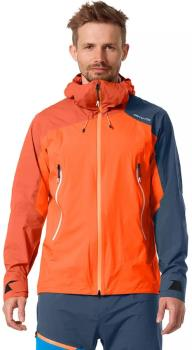 Ortovox Adult Unisex Westalpen 3l Waterproof Shell Jacket, Xl Burning Orange