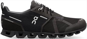 On Cloud Waterproof Women's Running Shoes, UK 8 Black/Lunar