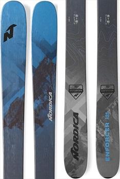 Nordica Enforcer Free 104 Skis, 179cm Blue/Grey 2020