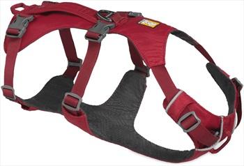 Ruffwear Flagline Dog Harness Lightweight Pet Harness, Medium Red Rock