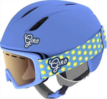 Giro Launch Combo Kids Ski/Snowboard Helmet + Goggles, XS Blue