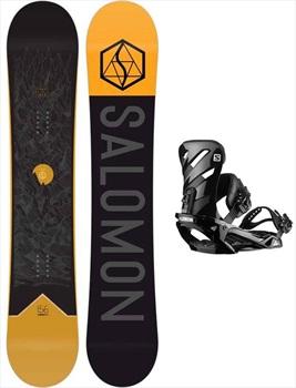 Salomon Sight | Rhythm Snowboard Package, 155cm Wide | Large 2020