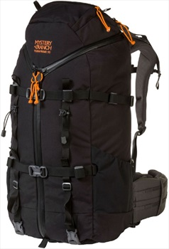 Mystery Ranch Terraframe 3-Zip 50 XL Trekking Backpack, 50L Black