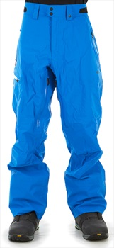 Oakley Snow Shell 3L Snowboard/Ski Pants, XL Electric Blue