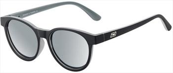 Dirty Dog Twisty Grey Polarized Sunglasses, Satin Black