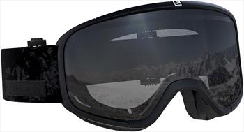 Salomon Four Seven Mirror Silver Snowboard/Ski Goggles, M/L Black