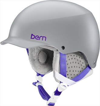 Bern Womens Muse MIPS Women's Snowboard/Ski Helmet, S Satin Grey