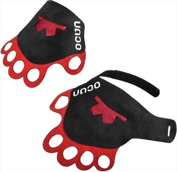 Ocun Crack Gloves Lite Crack Climbing Gloves, XS Black/Red
