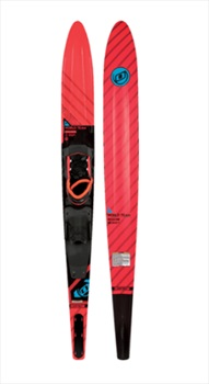 "O'Brien World Team Slalom Waterski, 68"" W/ X9 Std Bl Red"