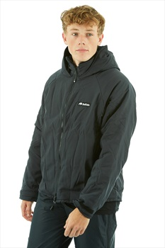 Buffalo Hooded Belay Technical All Weather Jacket, M Black
