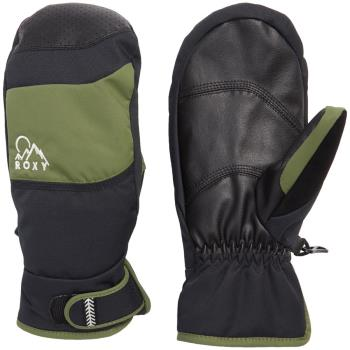 Roxy Lumio Women's Snowboard/Ski Mitts, S Bronze Green