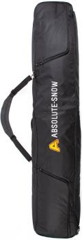Absolute Deluxe Wheelie Ski/Snowboard Bag, 160cm All Black