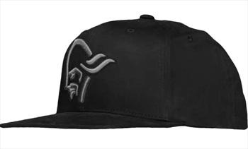 Norrona /29 Snapback Cap Hat, One Size Caviar Black