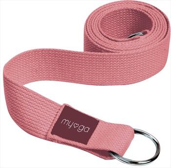 Myga Back To Basics 2-in-1 Yoga/Pilates Belt & Sling, Dusty Pink
