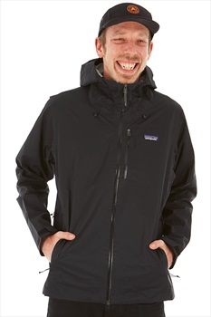 Patagonia Adult Unisex Rainshadow Men's Waterproof Shell Jacket, S Black