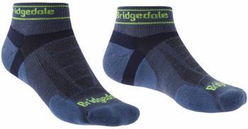 Bridgedale Trail Run Ultralight T2 Merino Low Running Socks, M Blue