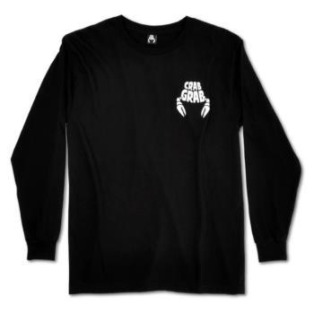 Crab Grab Classic Long Sleeved T-Shirt, M Black